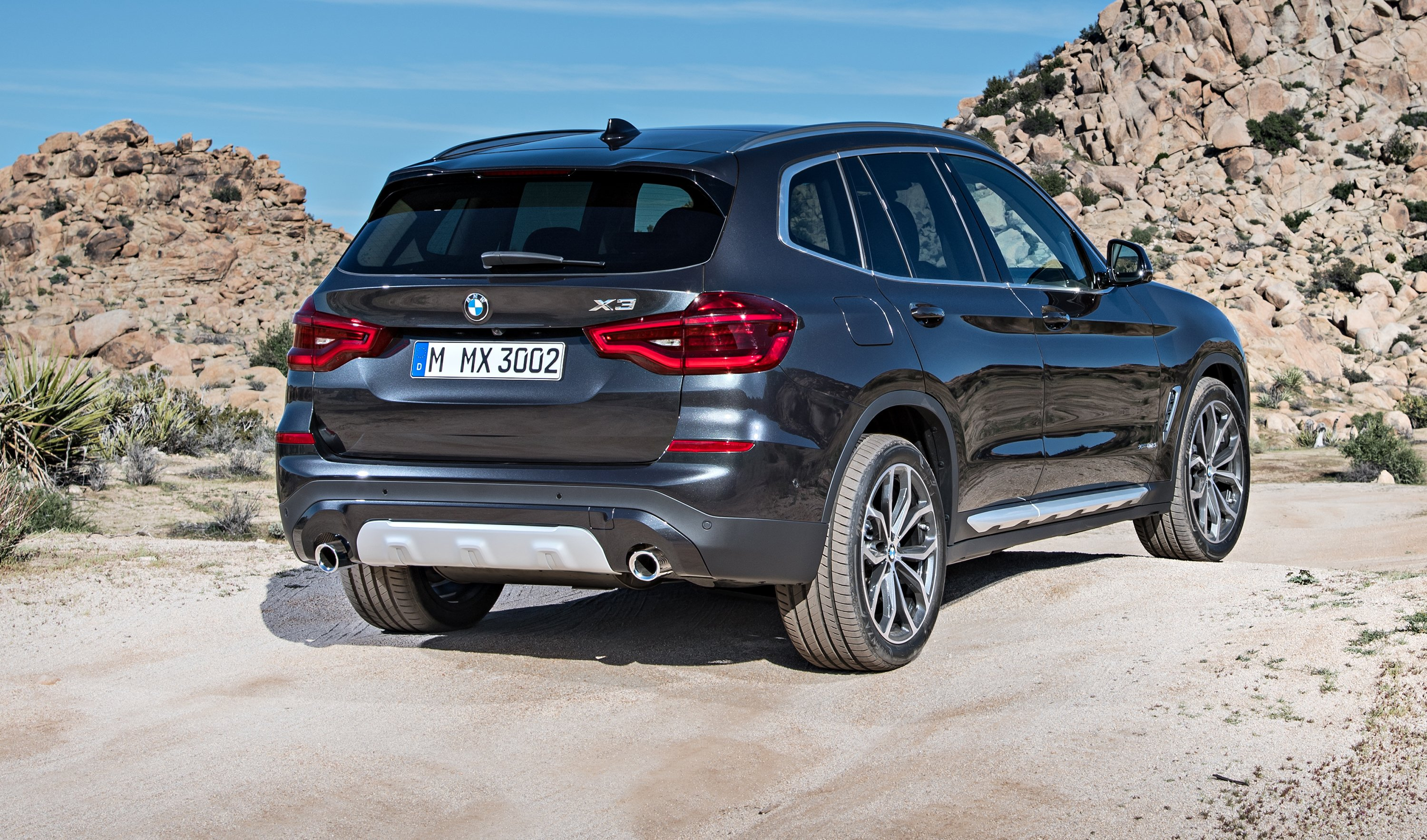 2018 bmw x3 pricing and specs photos. Black Bedroom Furniture Sets. Home Design Ideas