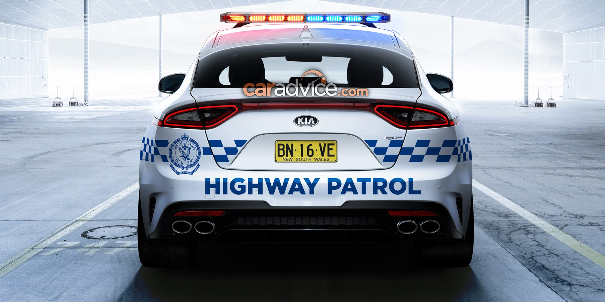 Kia Stinger a strong candidate for NSW and QLD Police ...