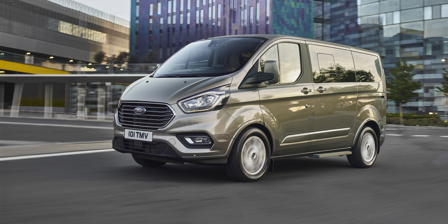 Ford Transit Custom facelift previewed with Tourneo makeover - photos | CarAdvice
