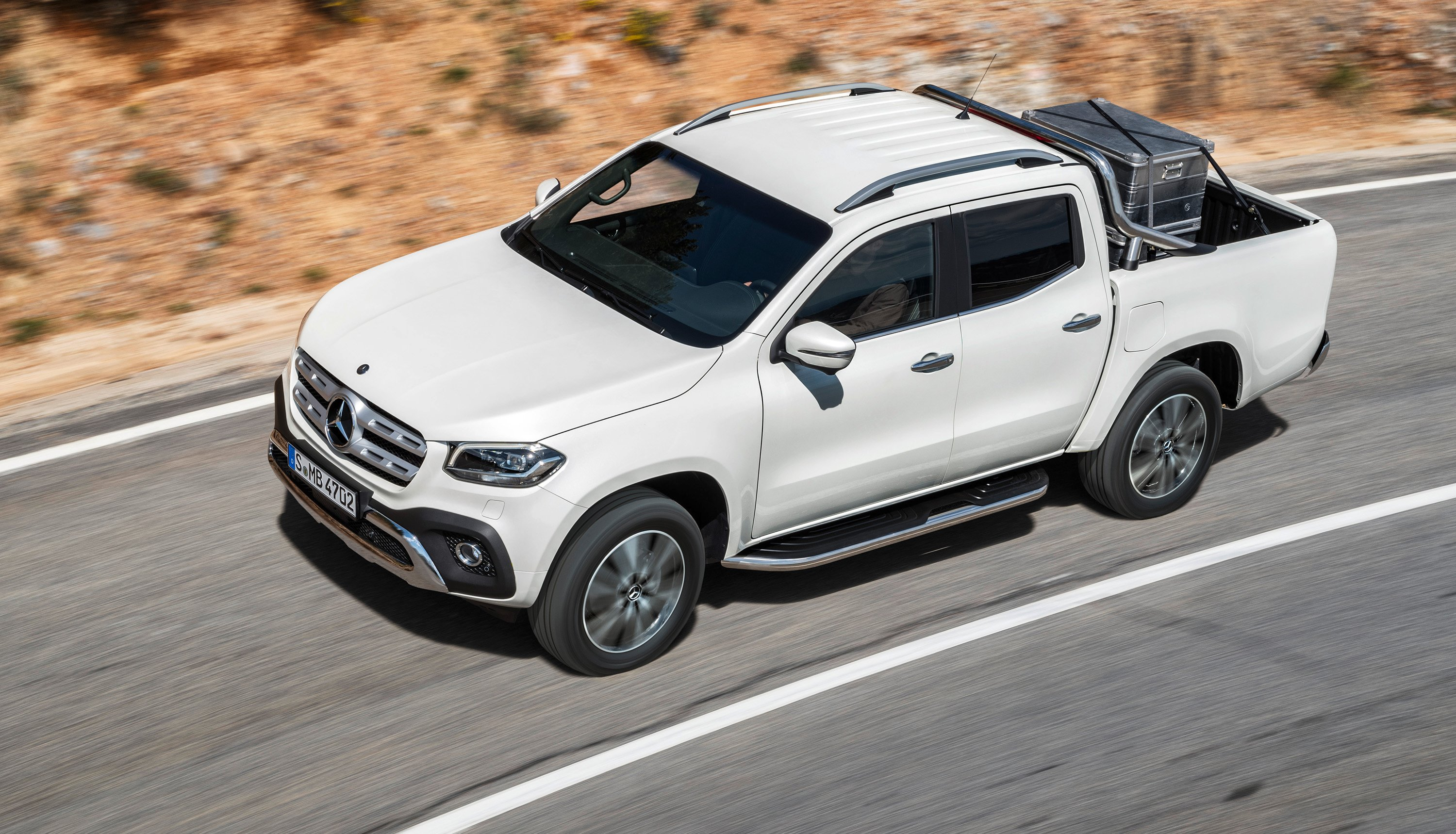 2018 mercedes benz x class ride along review photos for Mercedes benz cars