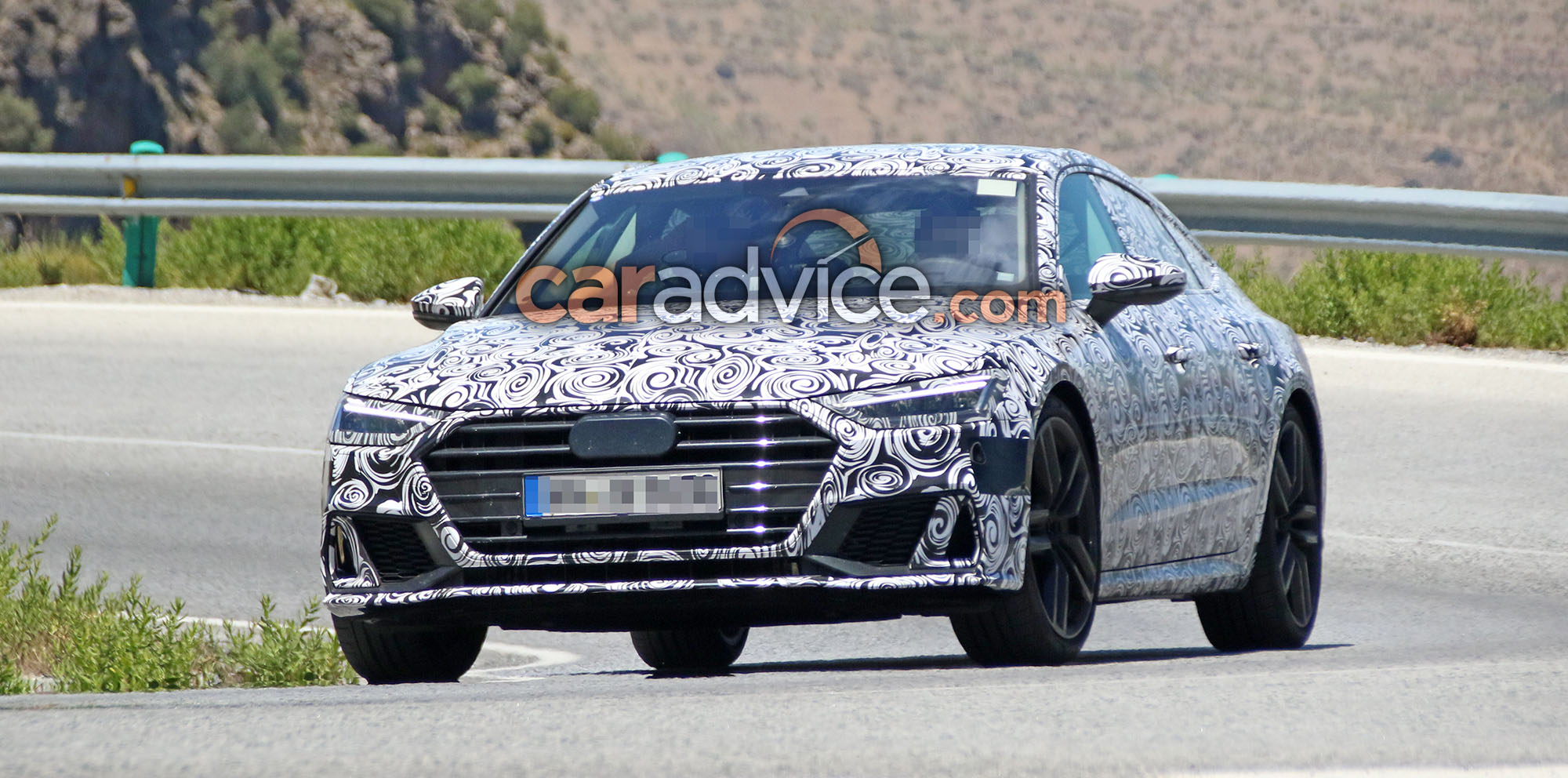 Audi S Spied Revealing Extra Details Photos CarAdvice - 2018 audi s7
