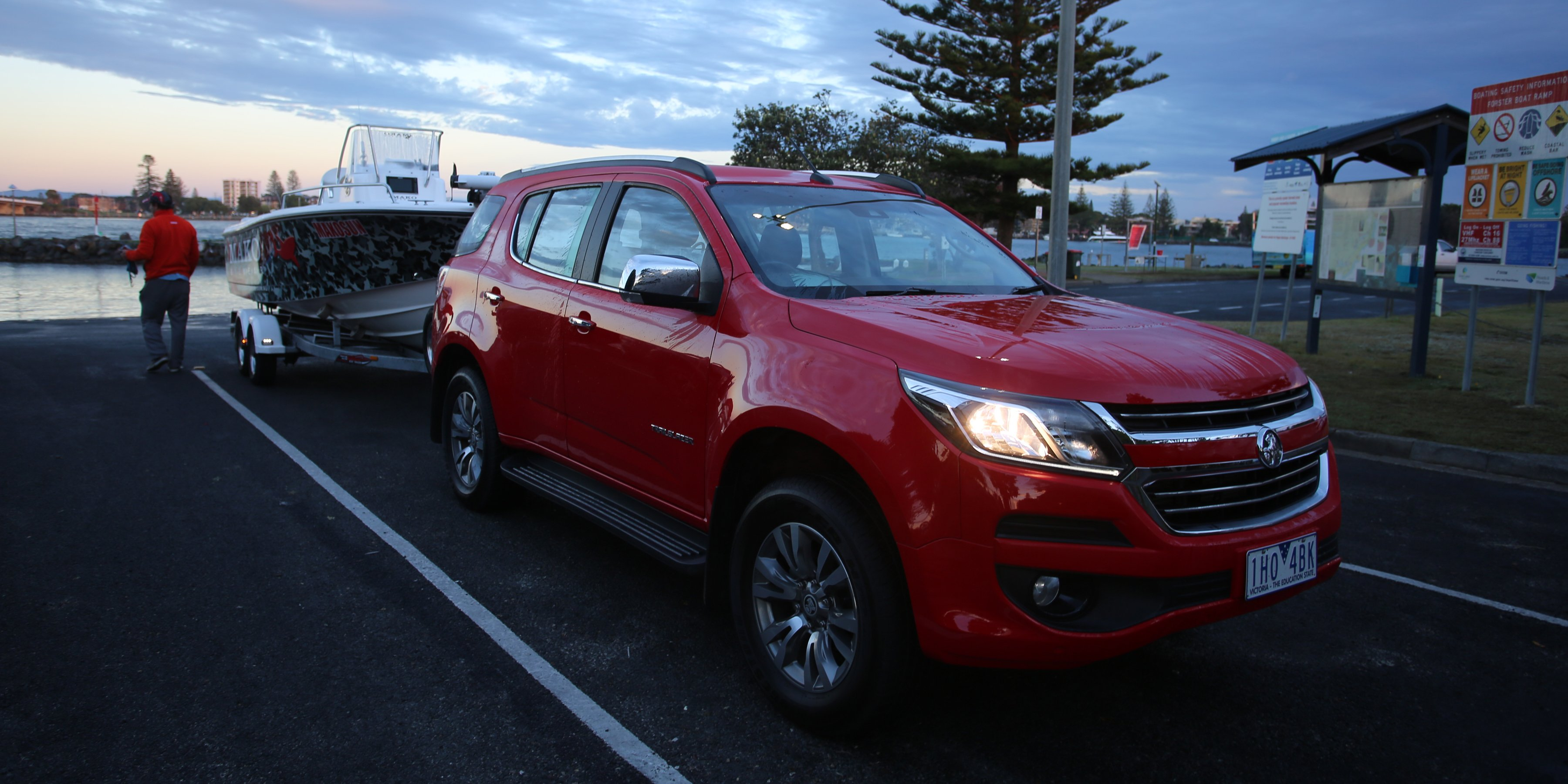 2017 Holden Trailblazer LTZ review: Towing - Photos (1 of 11)