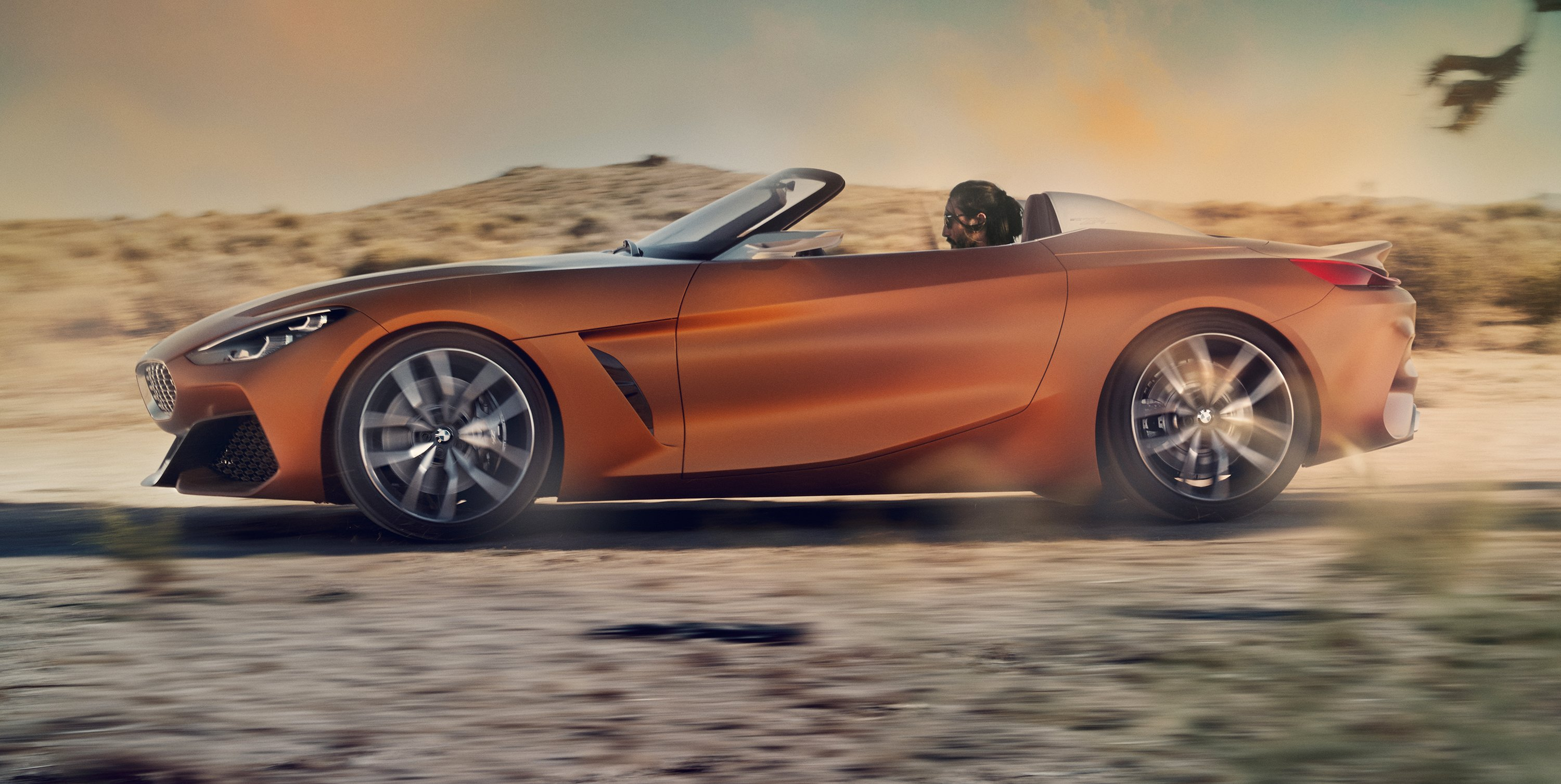 2018 Bmw Z4 New Generation Roadster Previewed For Pebble Beach Show Photos Caradvice