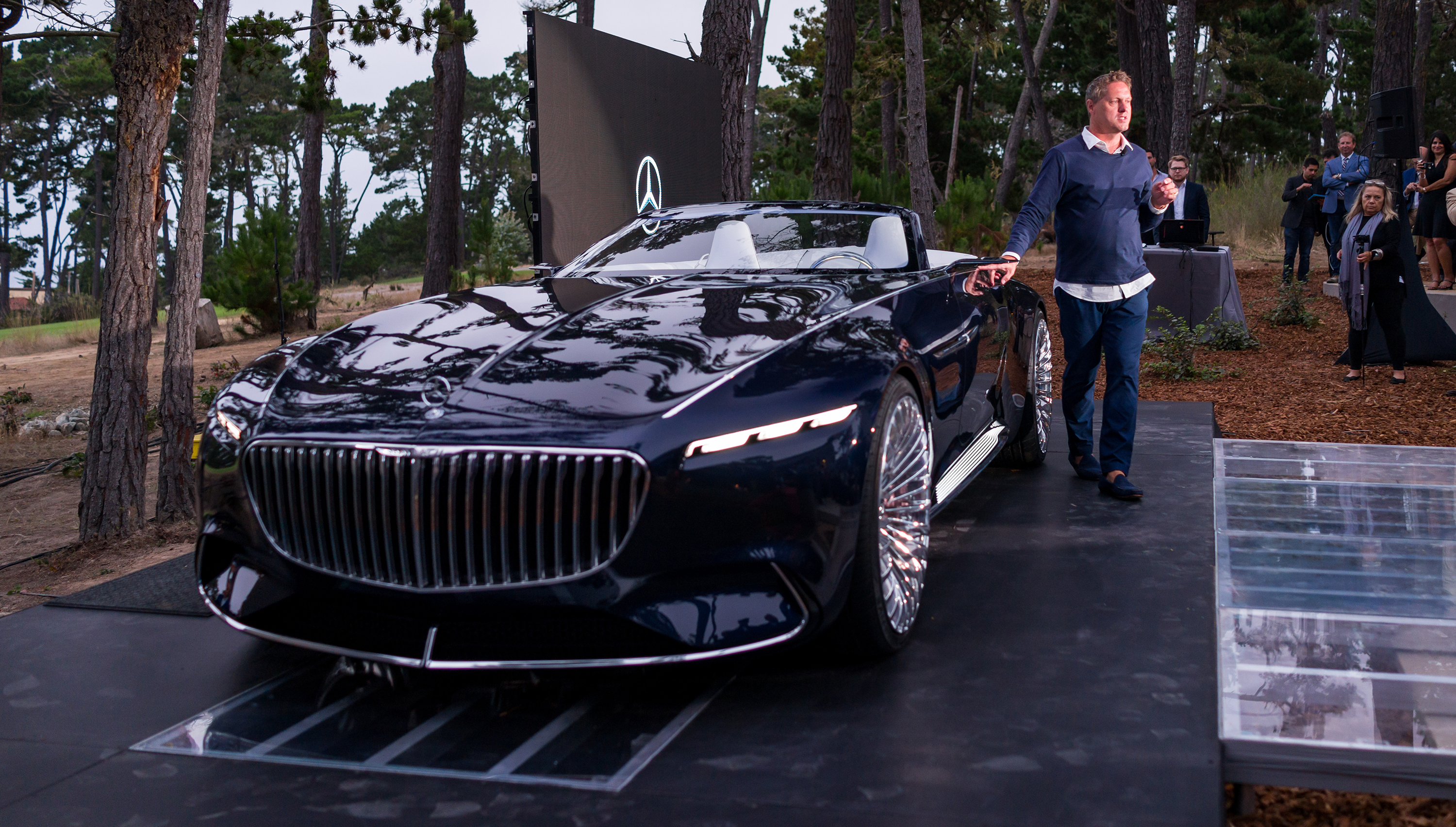 Mercedes-Maybach Vision 6 Cabriolet revealed - photos ...