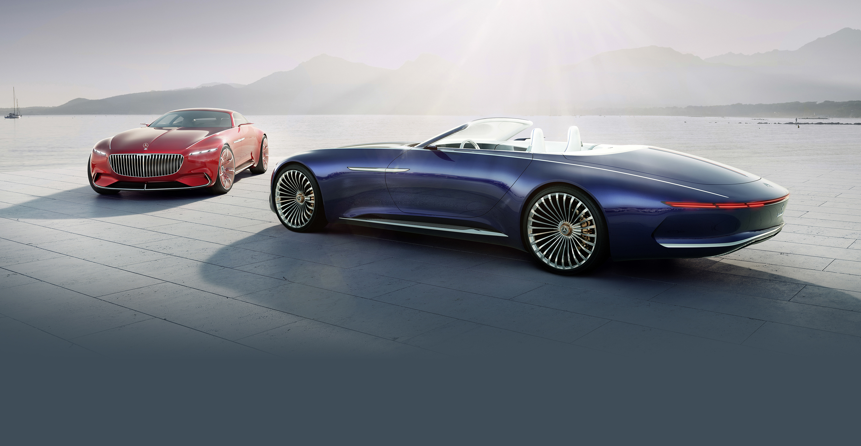 Mercedes-Maybach Vision 6 Cabriolet revealed - photos | CarAdvice
