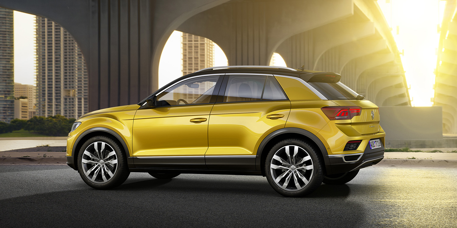 2018 Volkswagen T-Roc revealed - photos | CarAdvice