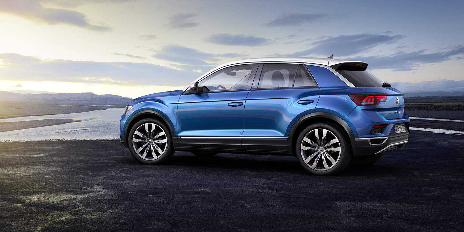 2018 volkswagen t roc revealed photos caradvice. Black Bedroom Furniture Sets. Home Design Ideas