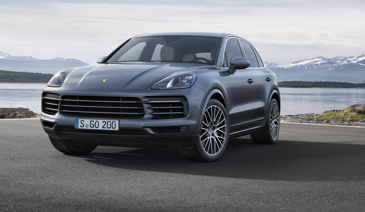 2018 porsche cayenne revealed australian debut due mid year photos caradvice. Black Bedroom Furniture Sets. Home Design Ideas