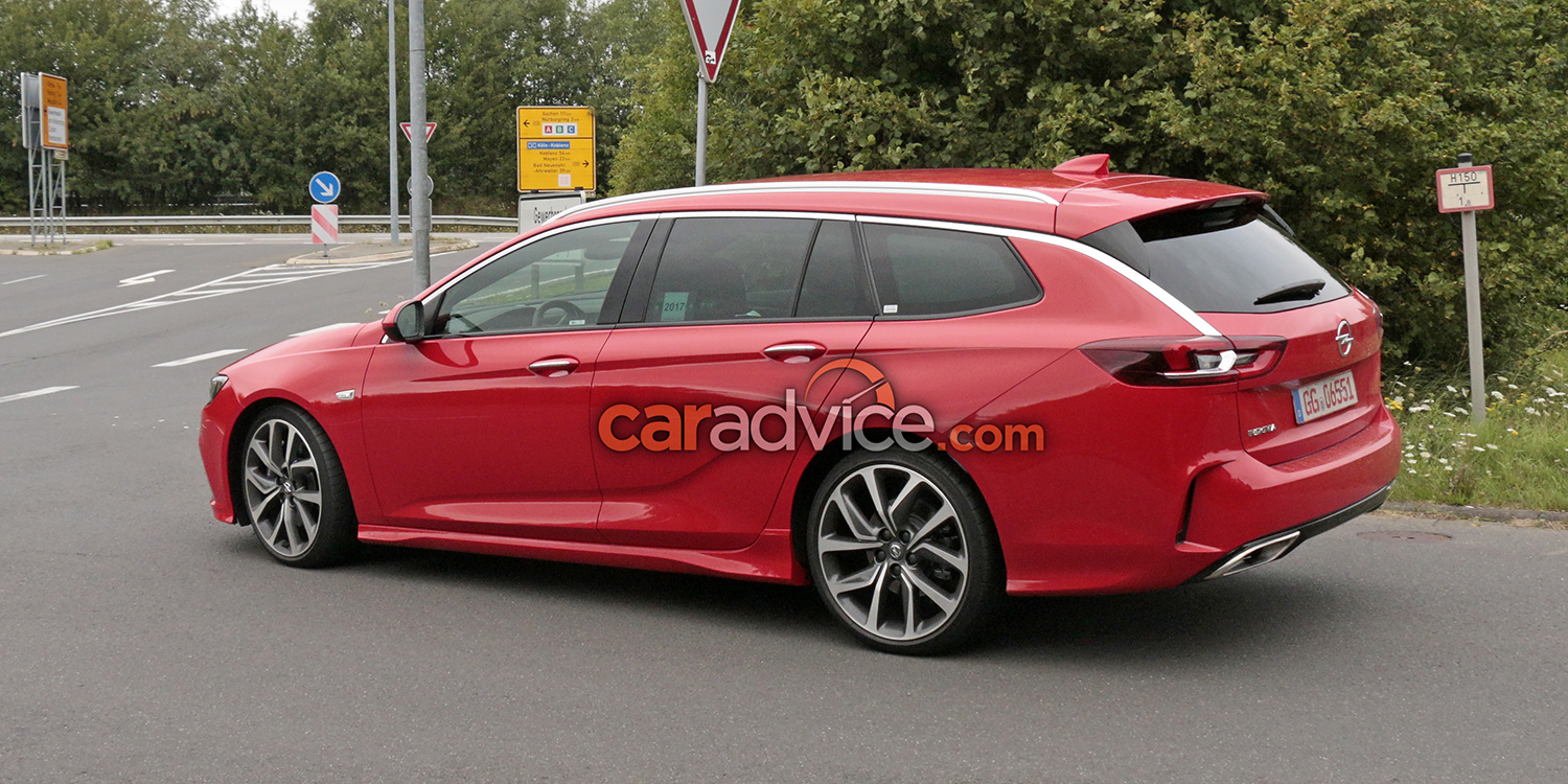 2018 opel insignia gsi sports tourer spied at the nurburgring photos. Black Bedroom Furniture Sets. Home Design Ideas