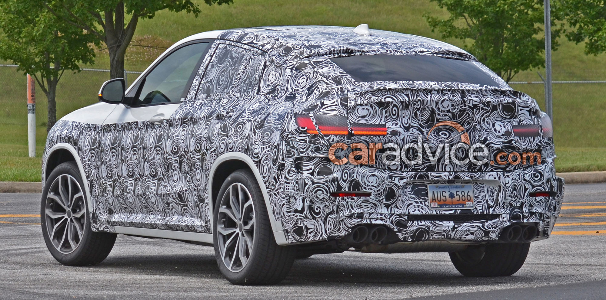 2019 Bmw X4 M Spied Photos Caradvice