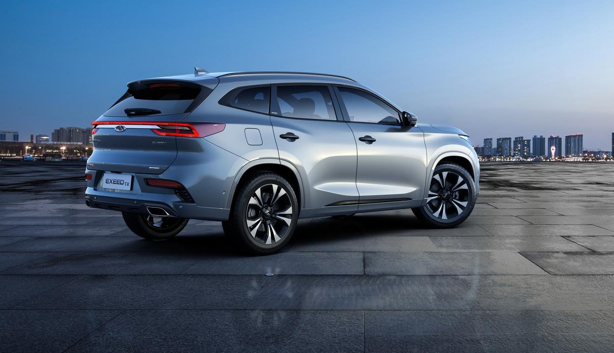 Exeed Tx China S Chery Launches New Brand And Suv For