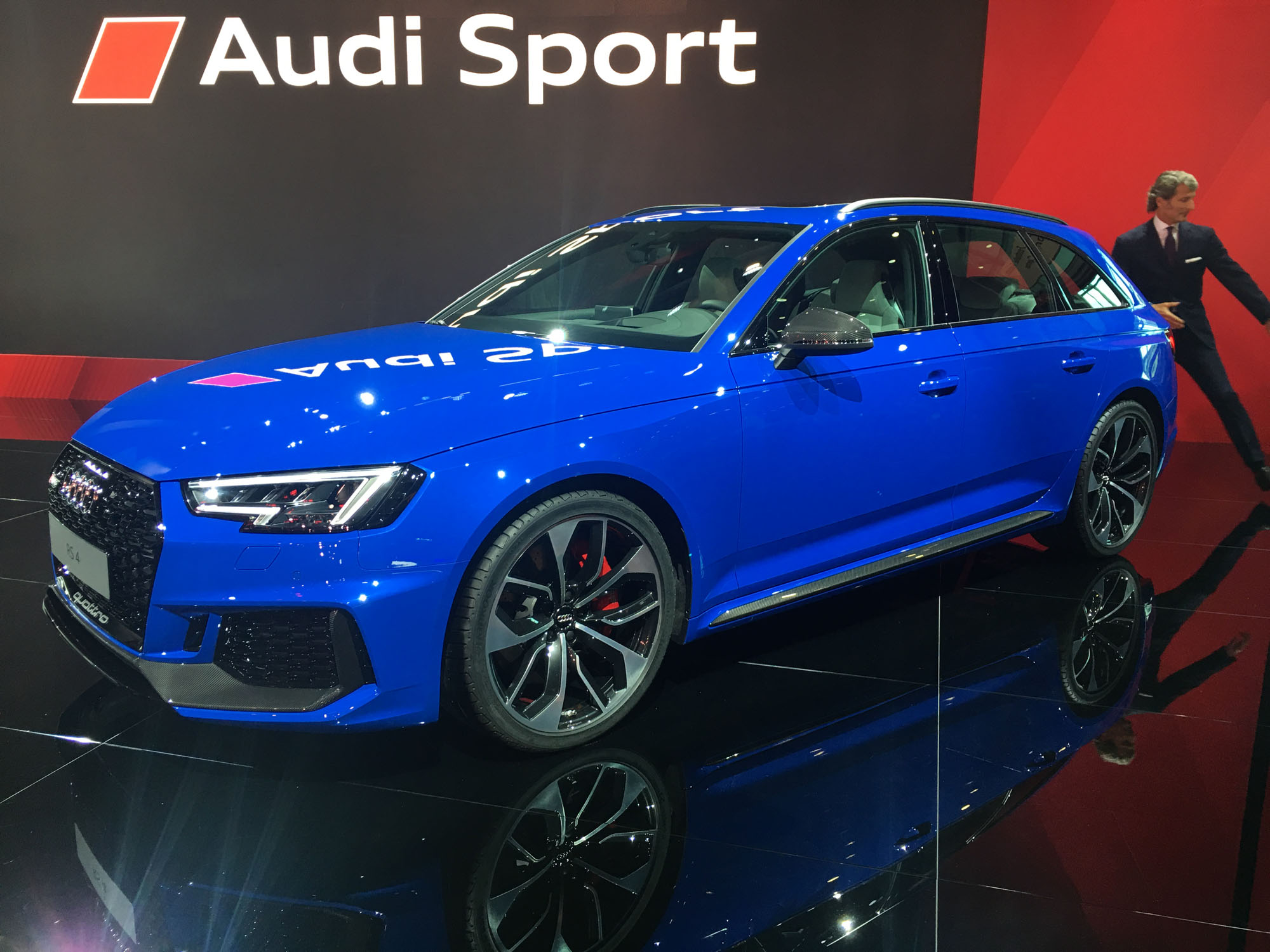 2018 audi rs4 avant revealed here by april photos. Black Bedroom Furniture Sets. Home Design Ideas