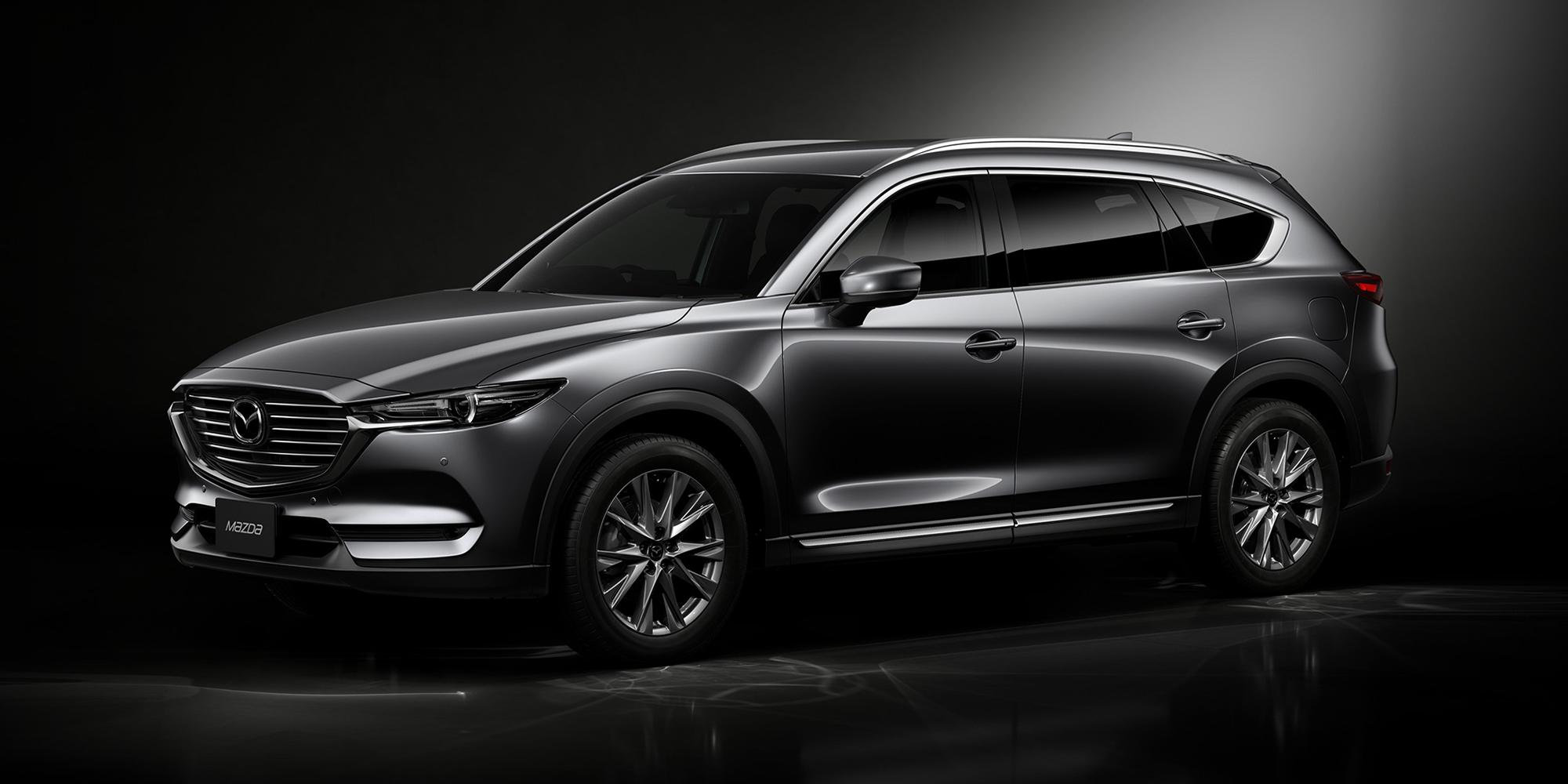 Nissan Navara Suv 2017 >> 2018 Mazda CX-8 revealed in Japan - photos   CarAdvice