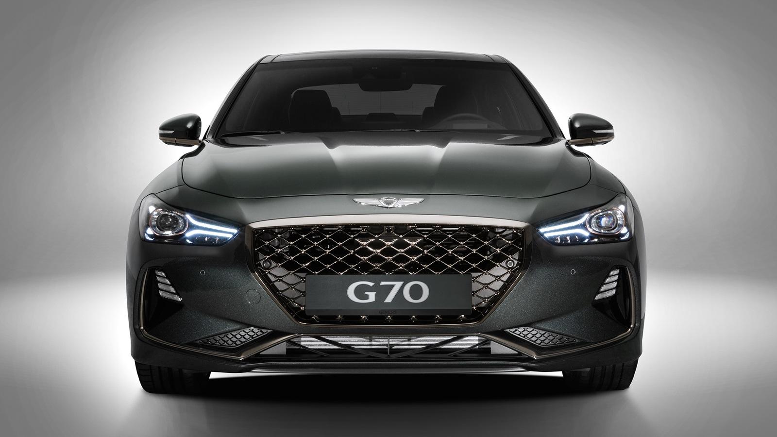 2018 Genesis G70 Revealed Photos Caradvice