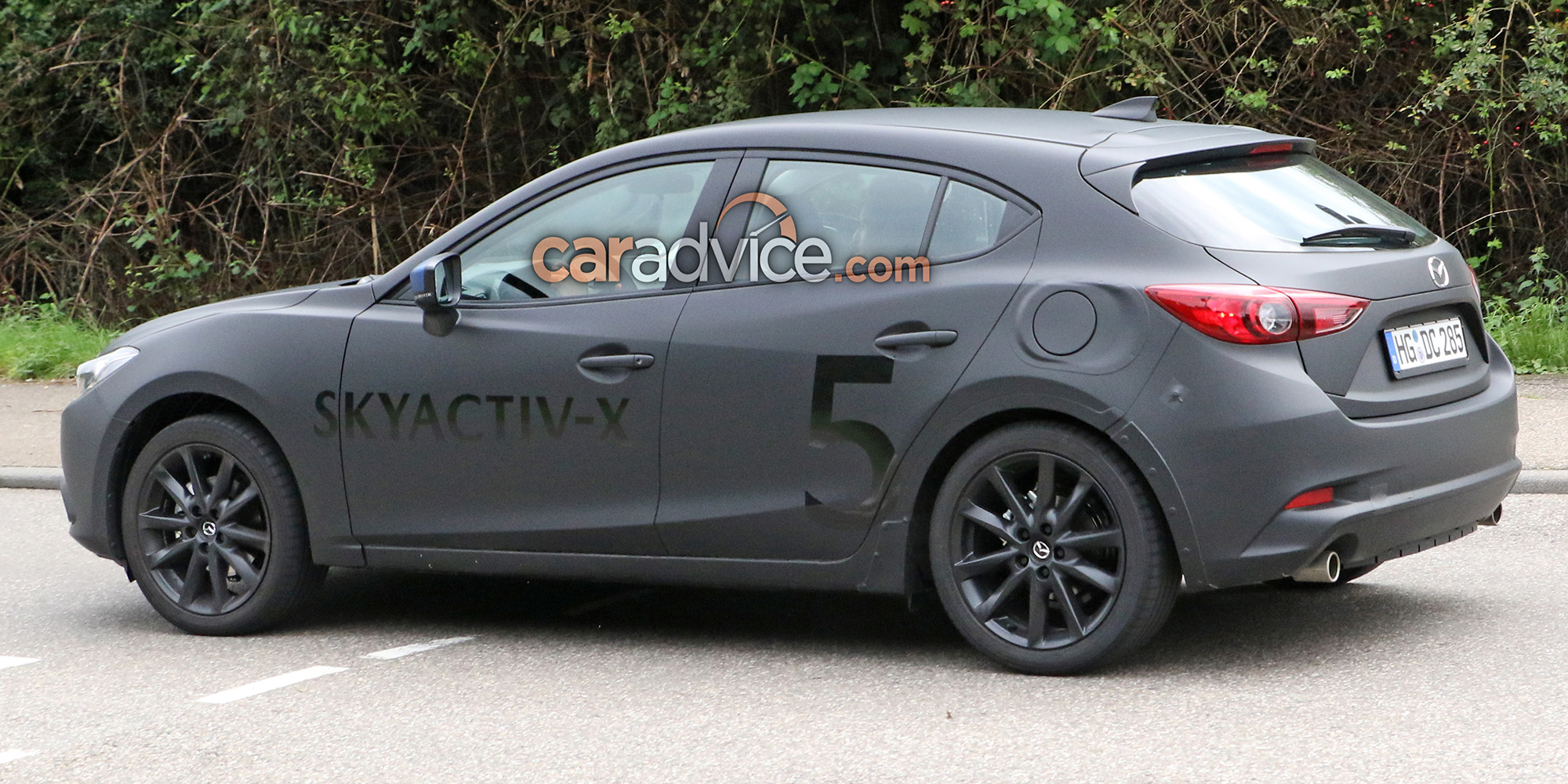 2019 mazda 3 spied with skyactiv x engine photos caradvice. Black Bedroom Furniture Sets. Home Design Ideas