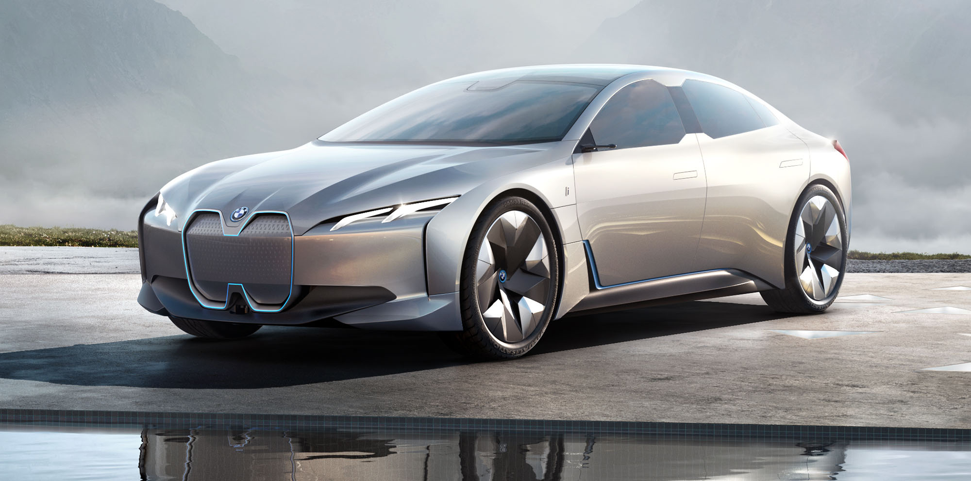Bmw I Vision Dynamics Concept Revealed Tesla Rival