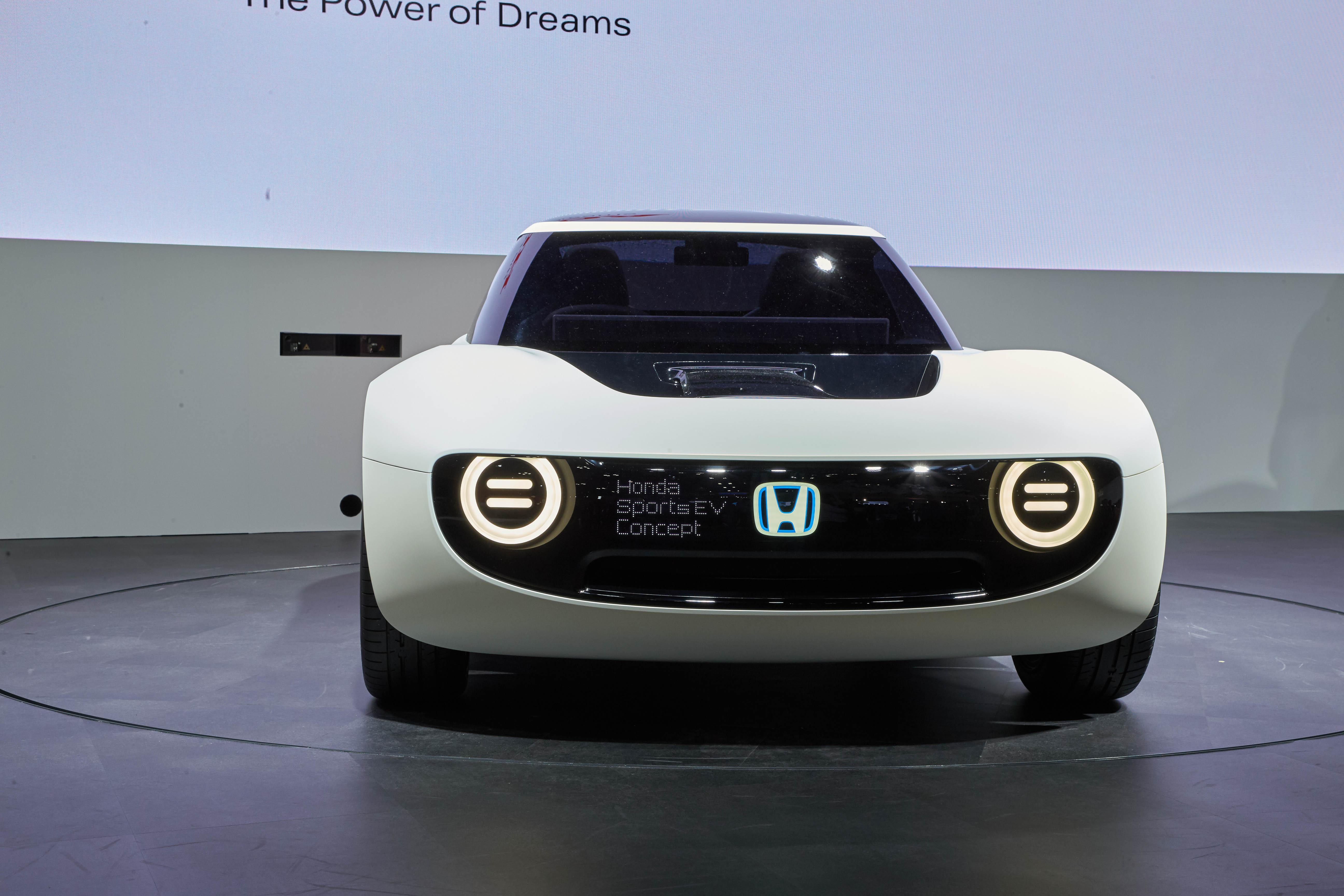 Honda Sports EV Concept Revealed - Photos