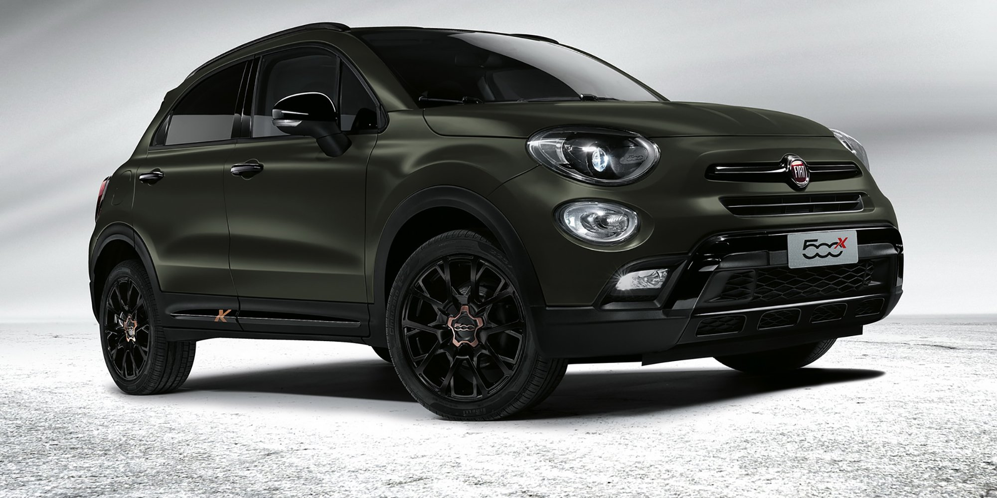 2017 Ford Ranger >> 2018 Fiat 500X update revealed, in Australia from first quarter - Photos (1 of 8)