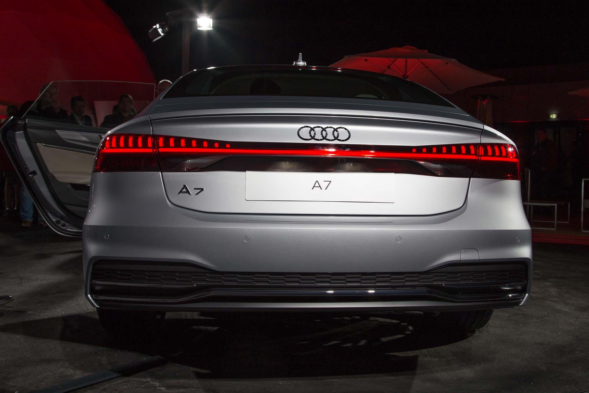 2018 Audi A7 Sportback Revealed Photos