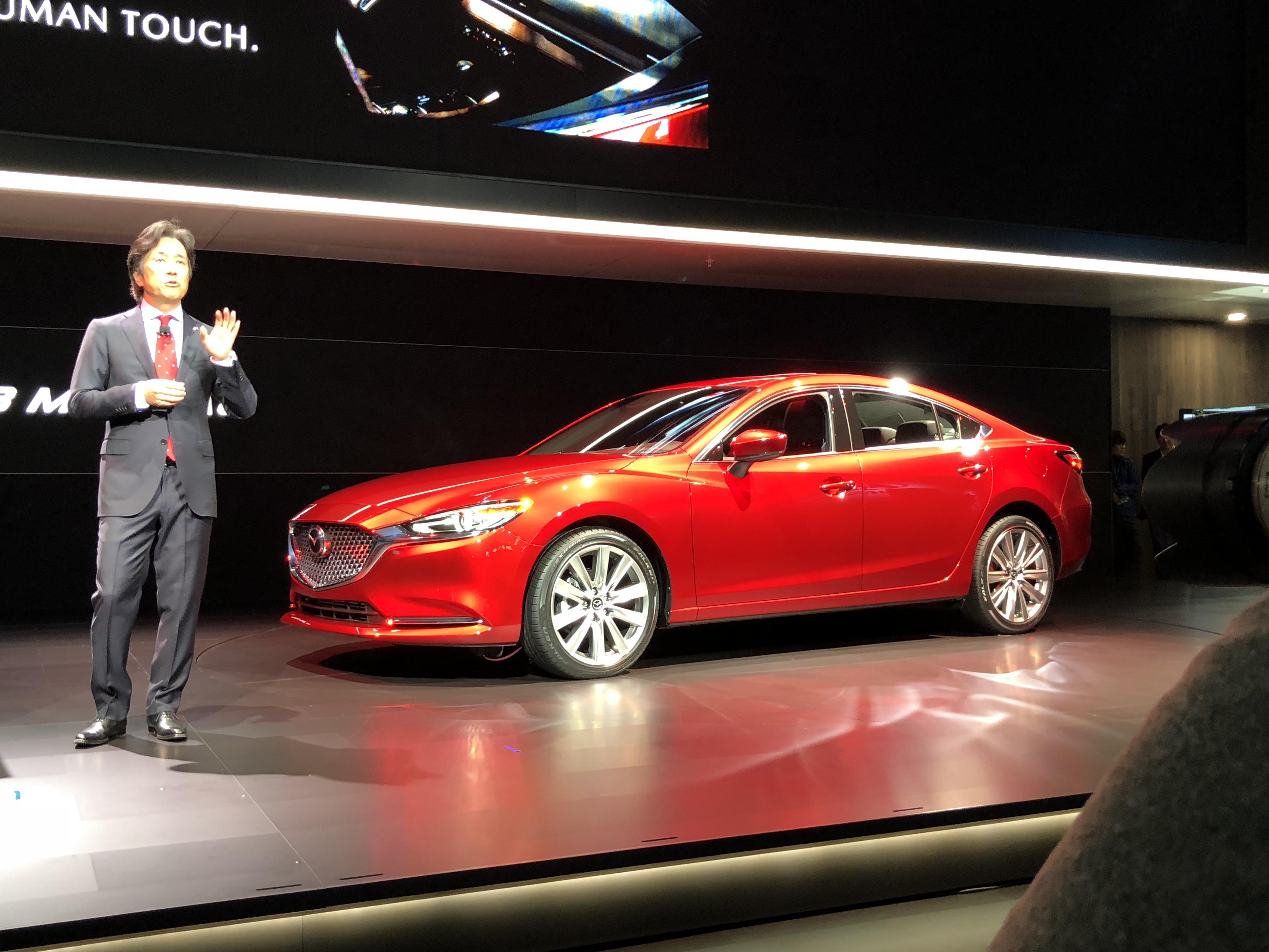 2018 Mazda 6 revealed: Turbo petrol coming to Australia ...
