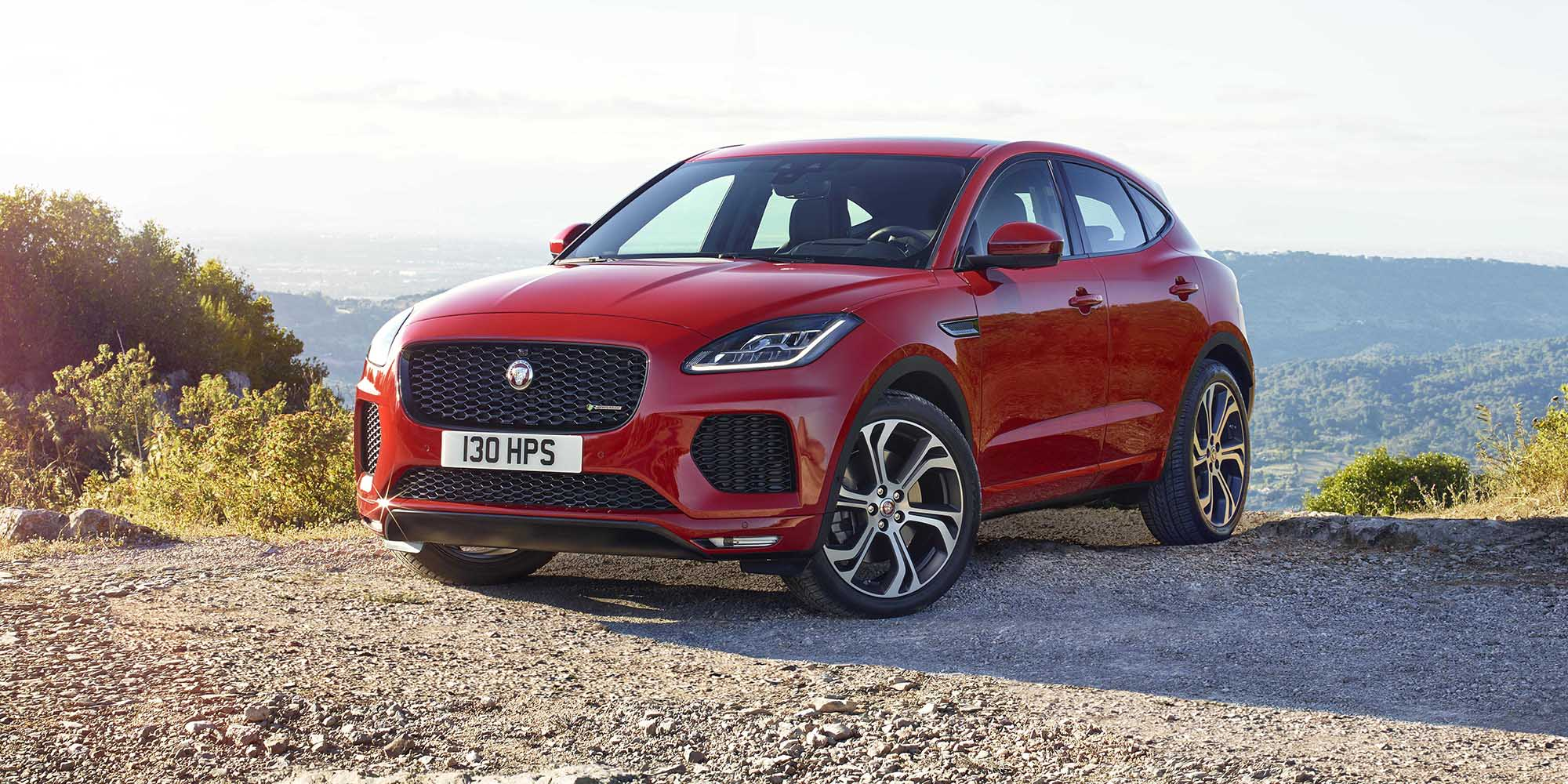2018 jaguar e pace pricing and specs photos. Black Bedroom Furniture Sets. Home Design Ideas