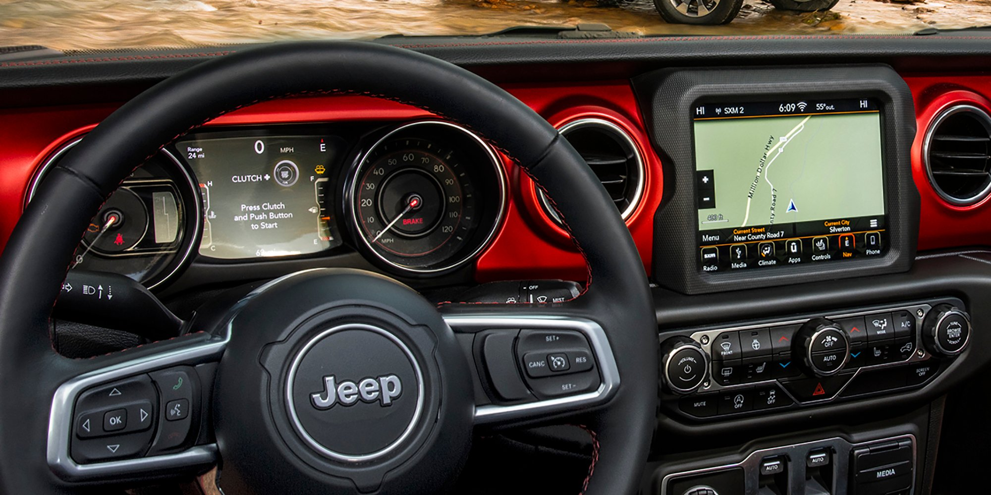 2018 Jeep Wrangler interior revealed - photos | CarAdvice