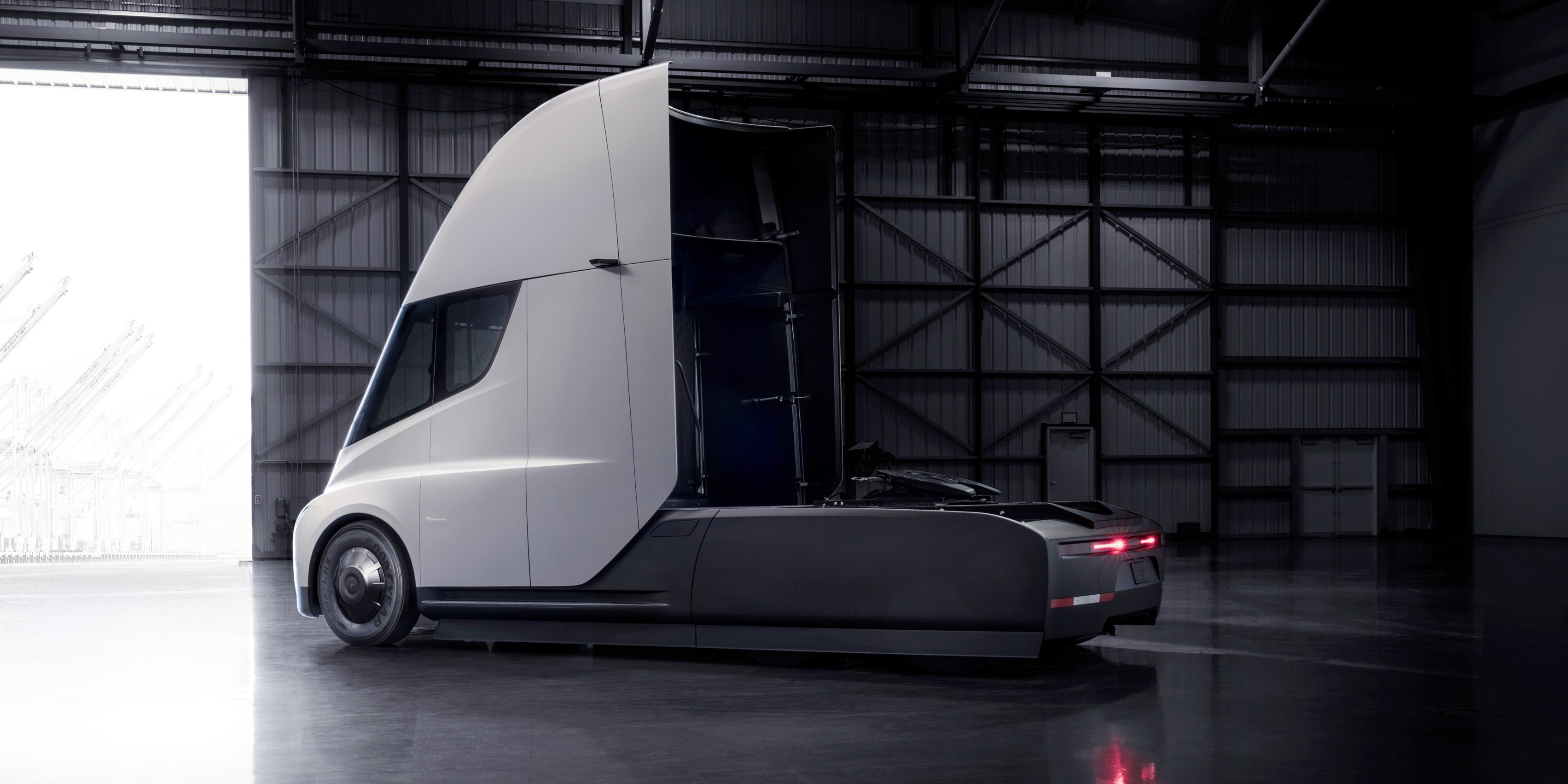 Tesla Semi Truck Revealed Production To Begin In 2019