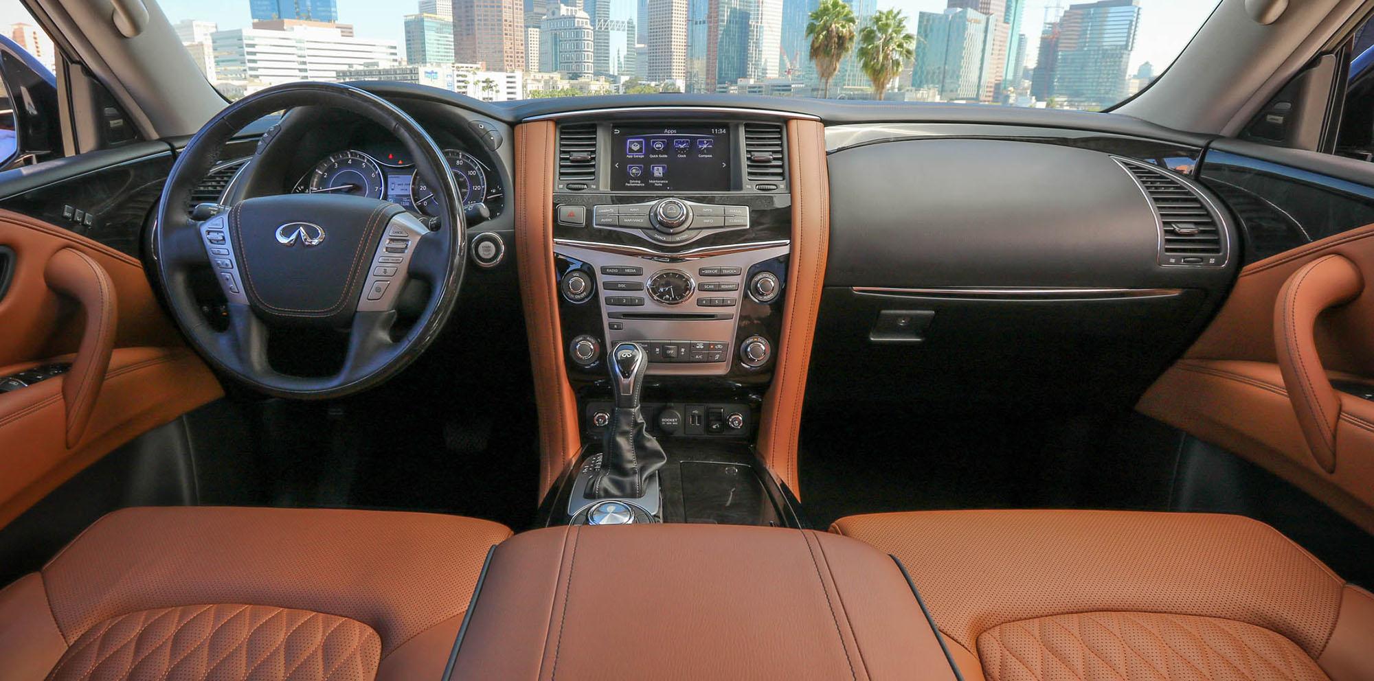 2018 Infiniti QX80 facelift unveiled ahead of Dubai show ...