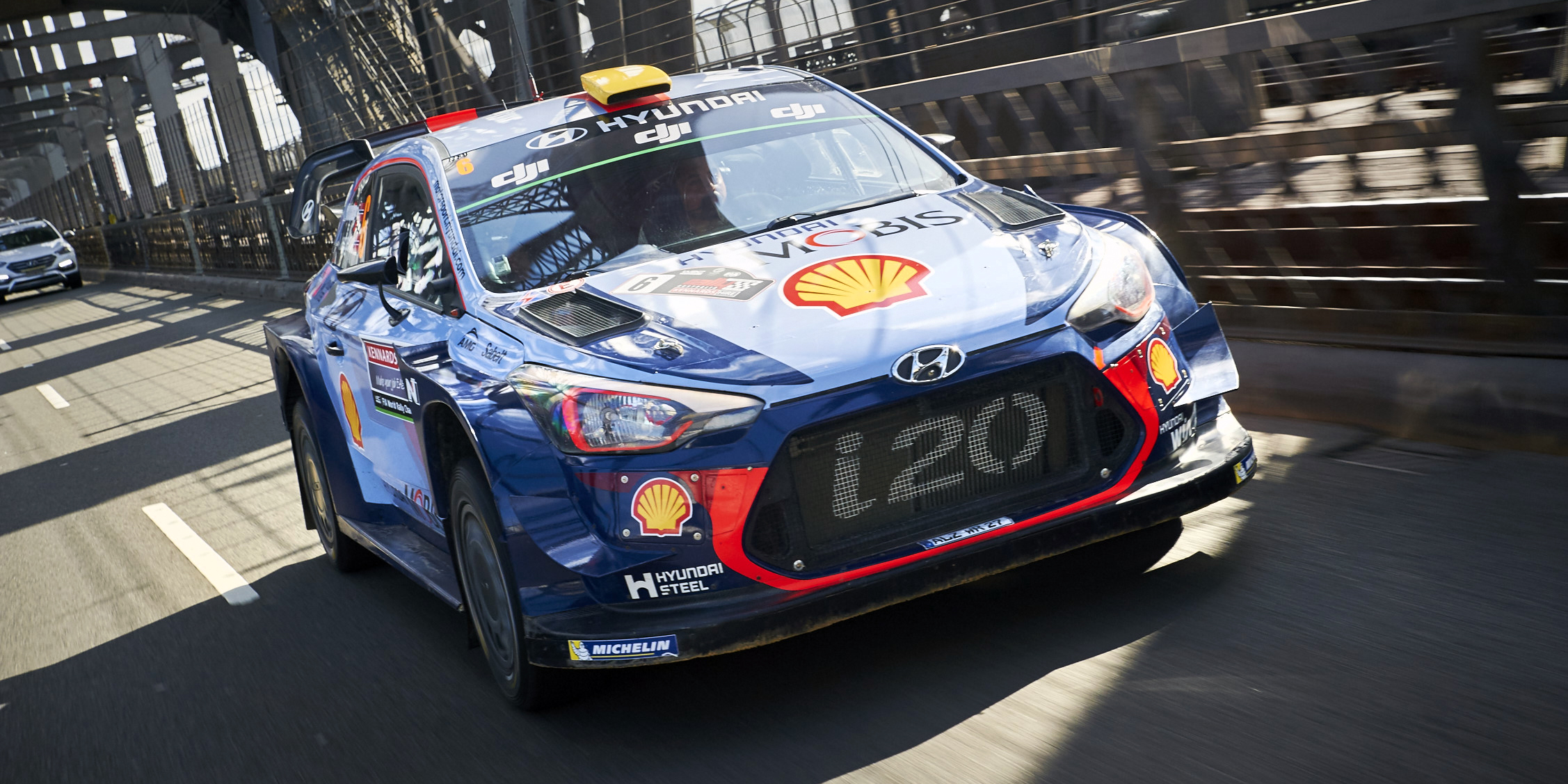 Driving A Wrc Race Car Through Sydney Photos