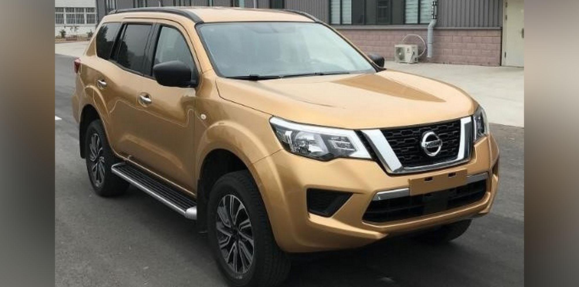 2018 Nissan Terra: Navara SUV leaked in China - Photos
