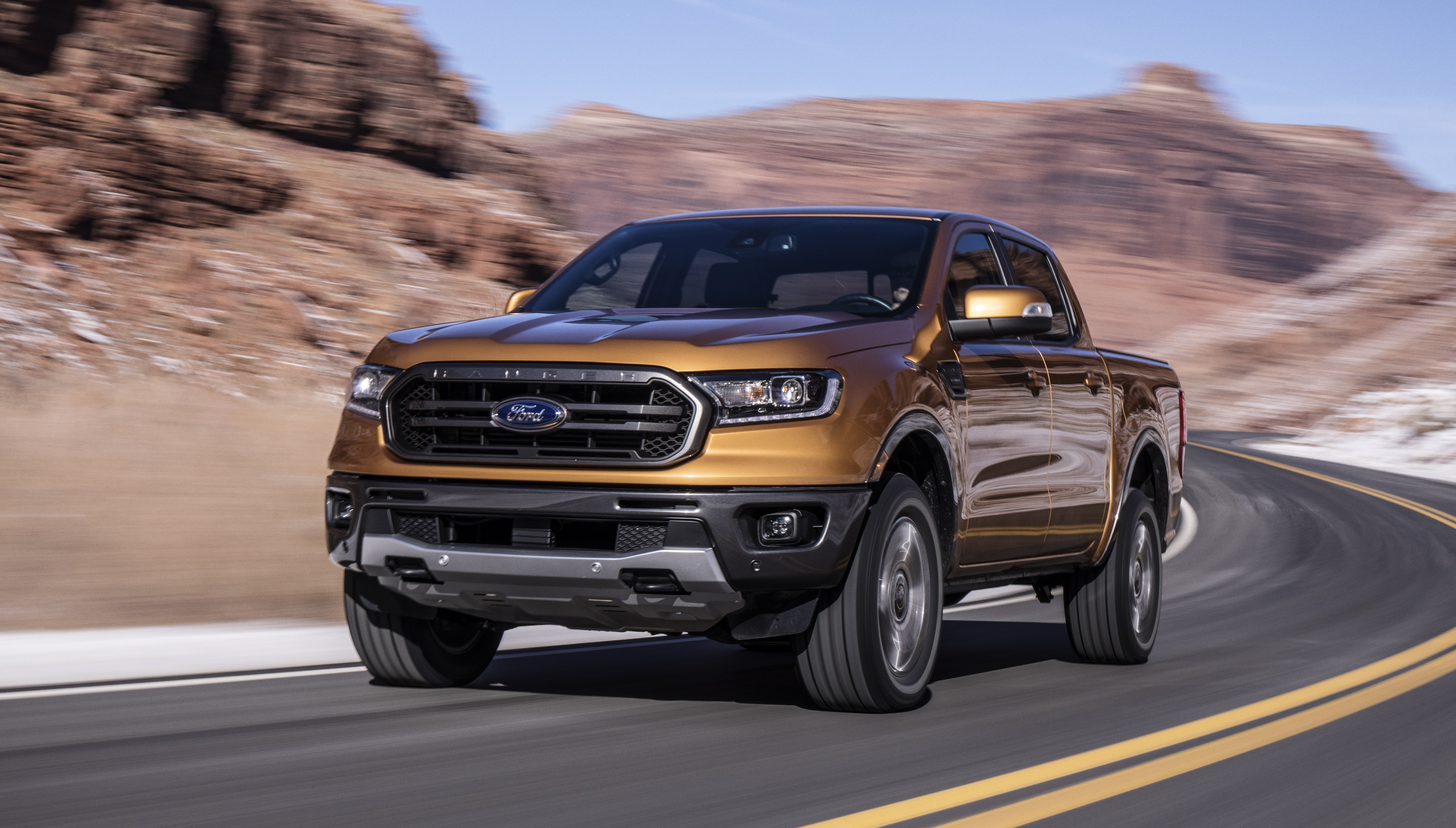 2019 Ford Ranger revealed for North America - Photos