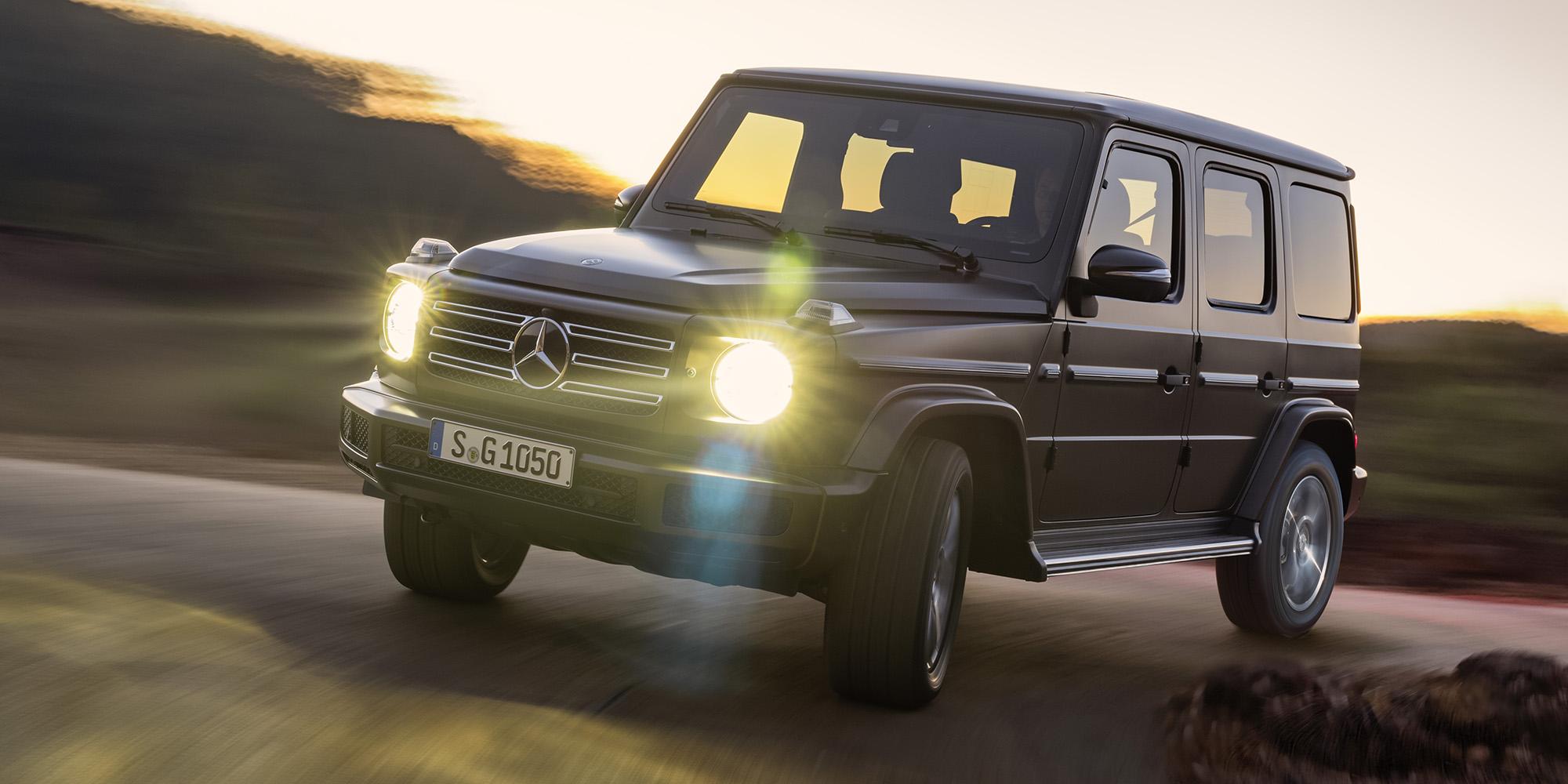 2019 Mercedes Benz G Class Revealed Photos