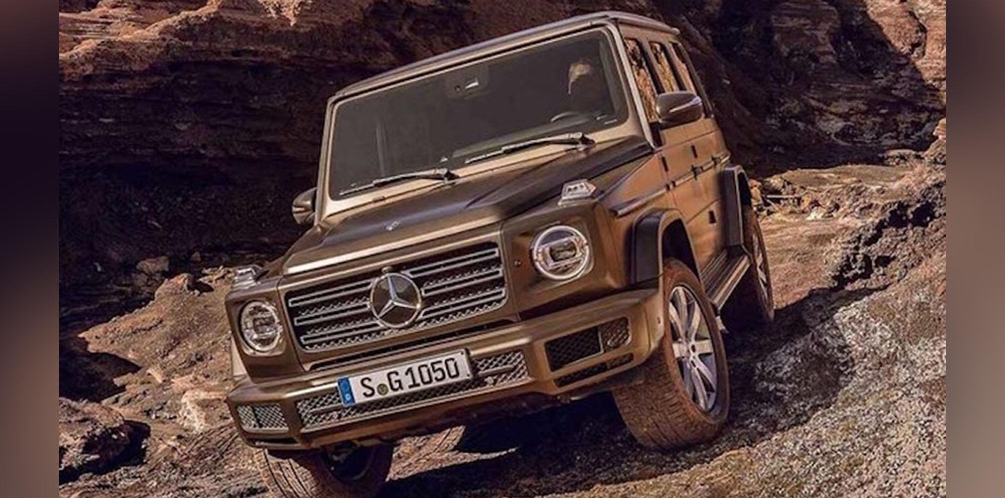 2018 mercedes benz g class leaked off road 39 sch ckl ready for Mercedes benz techs