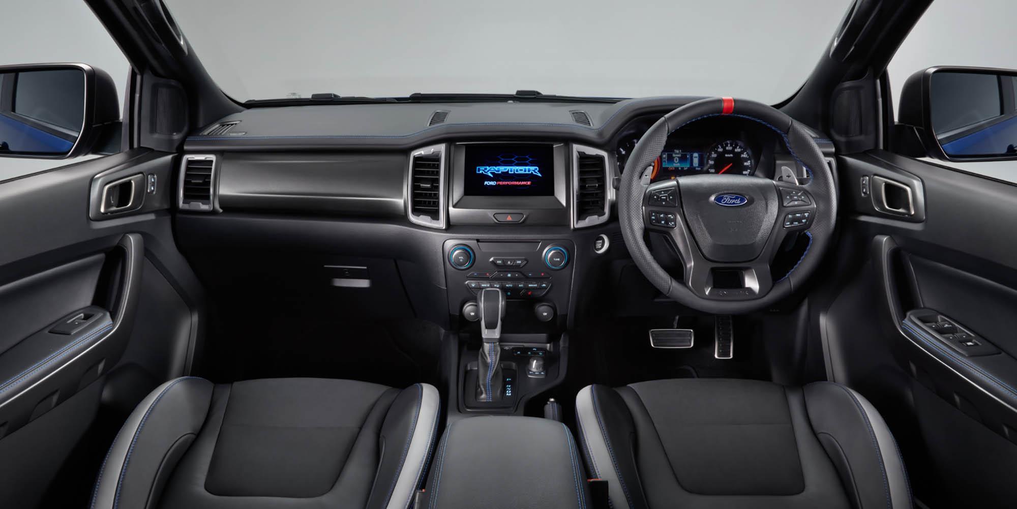 Ford Raptor Interior >> 2018 Ford Ranger Raptor revealed - Photos