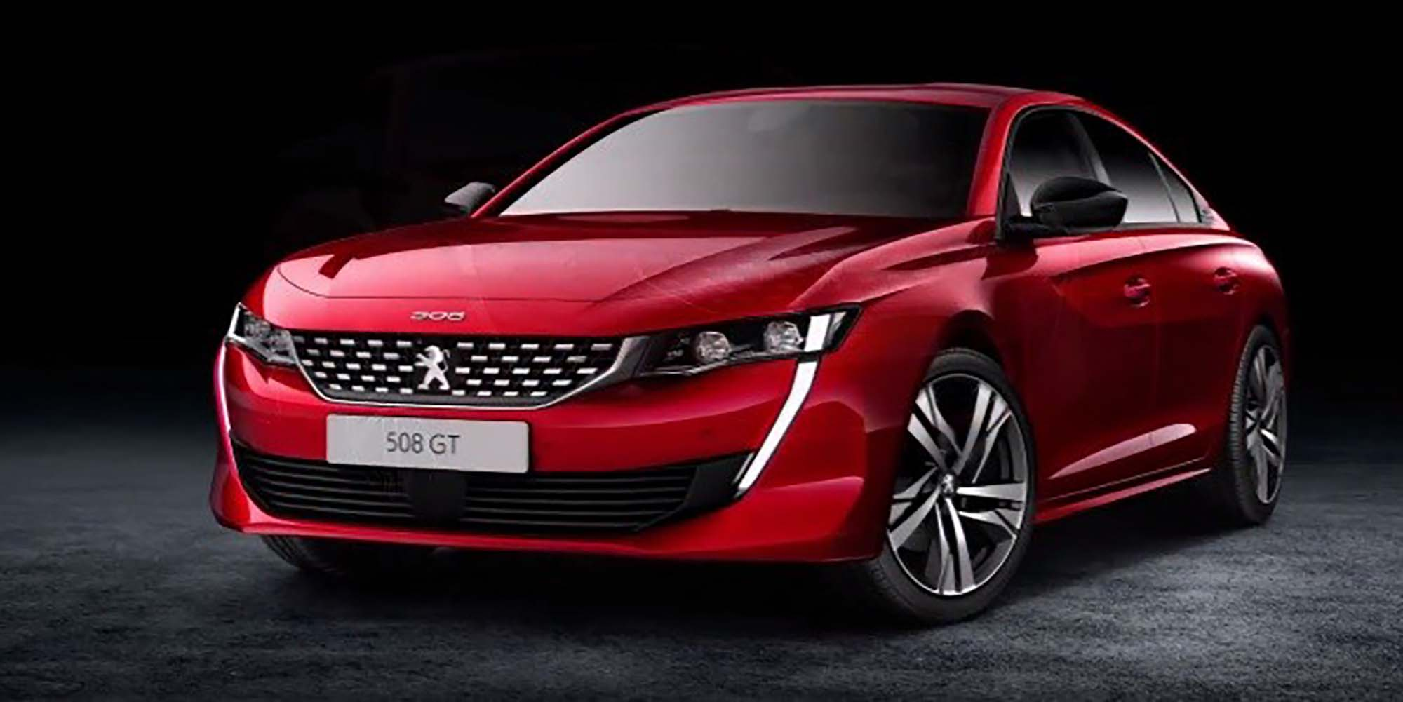 2018 Peugeot 508 Leaked Photos