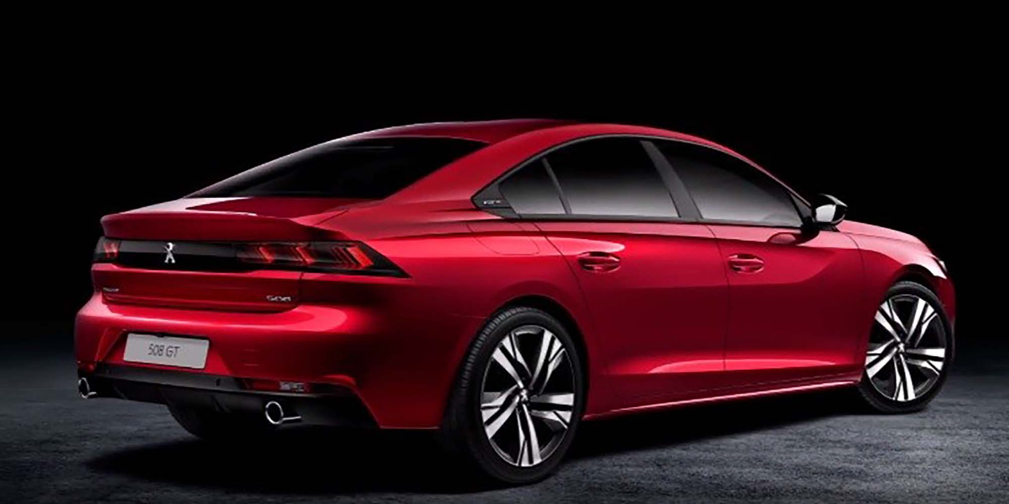Peugeot 508 New Model 2018 >> 2018 Peugeot 508 leaked - Photos