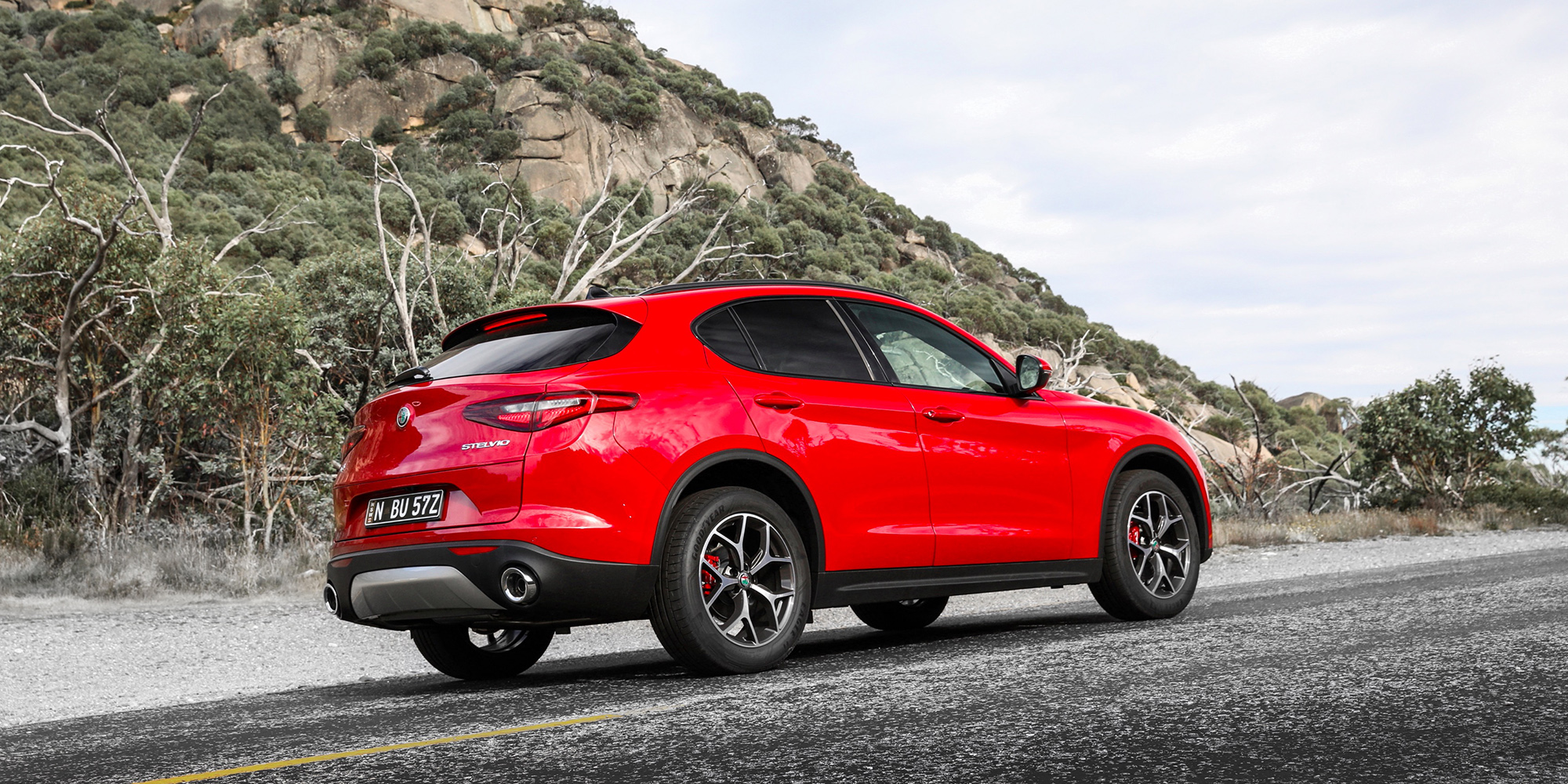 2018 alfa romeo stelvio pricing and specs photos. Black Bedroom Furniture Sets. Home Design Ideas
