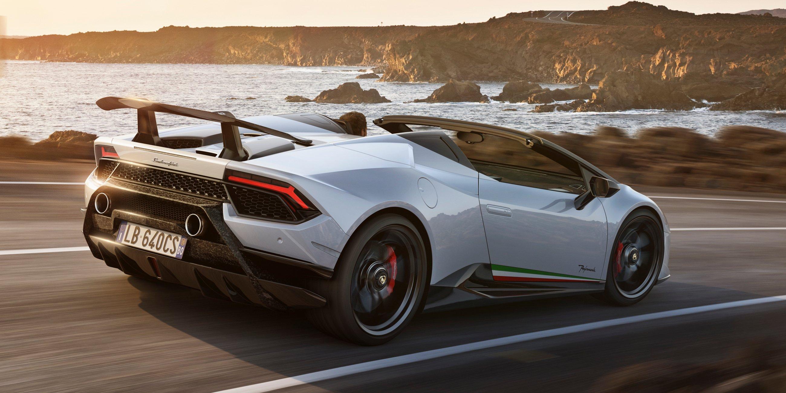 2018 Lamborghini Huracan Performante Spyder Revealed